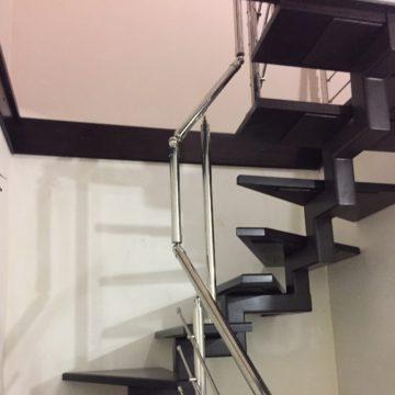 Изготовление забежных лестниц в Новосибирске